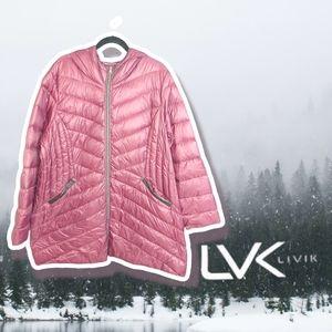 Livik Down Plus Size Winter Coat